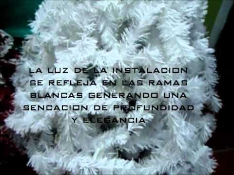 arbol de navidad blancowmv