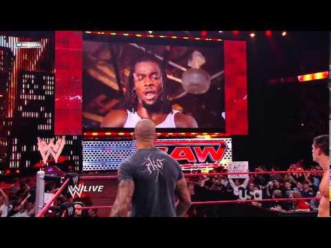 WWE Raw 2009 Kofi Kingston Destruye El Auto De Randy Orton [Español Latino] By Omar & Frederick