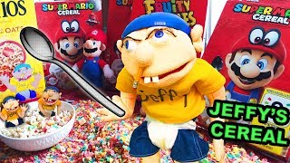 JEFFY'S SUPER MARIO ODYSSEY CEREAL COMMERCIAL SML Parody