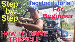 Paano Ba Mag Drive ng Tricycle | Step by step | For Beginners (Tagalog Tutorial) BY: Richard Cabile