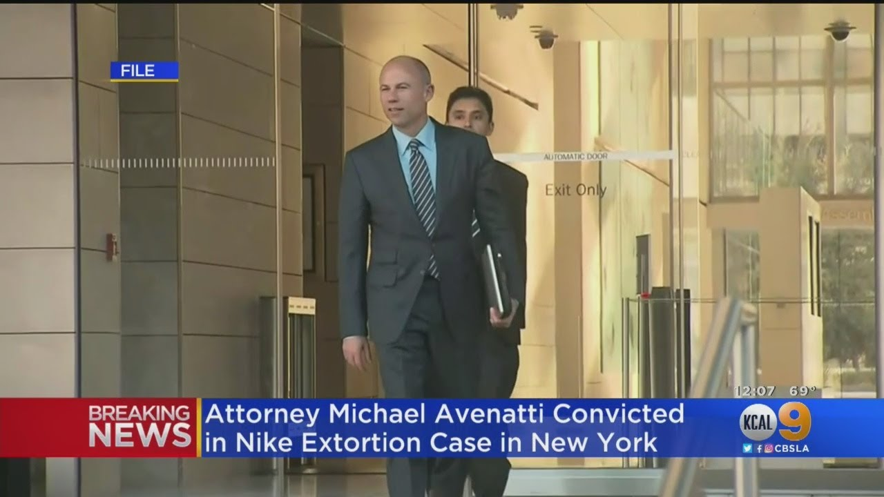 Michael Avenatti, ex-attorney for Stormy Daniels, convicted in Nike ...