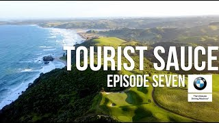 Tourist Sauce, Season 1 (New Zealand): Episode 7, Kauri Cliffs, Cape Kidnappers