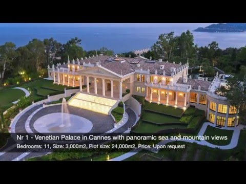 TOP 10 Finest Luxury Properties in the World 2016 by Verzun