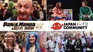 Paris Manga Octobre 2015 / Reportage Japan Community