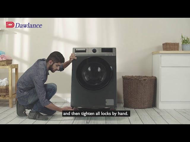 Dawlance | Steam Care Front Load | Machine Installation | Ask Dawlance
