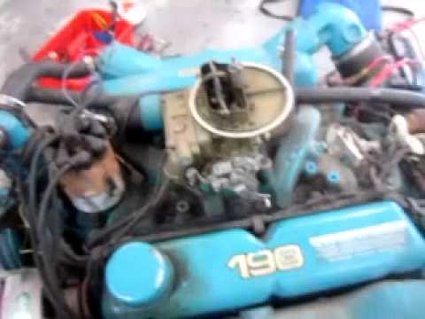 302 V8 Ford Engine Diagram 302 Ford 190 Hp Omc Mov Youtube