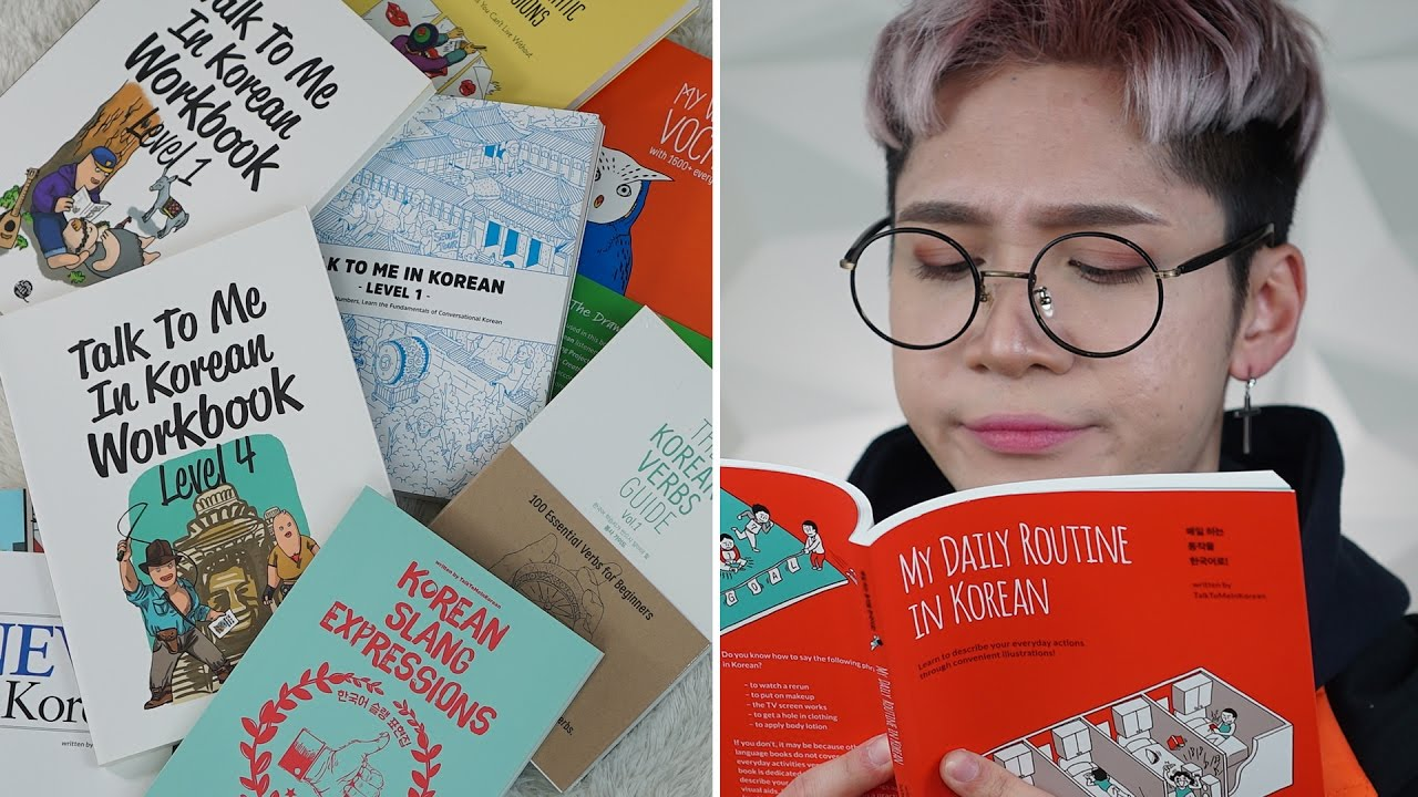 The 5 Best Korean Books for Language Students