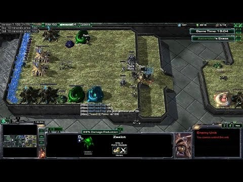 HoTs Arcade ~ Probes vs Zealot 2 ~ How to Play as PROBE