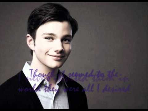 Chris Colfer - Dont Cry for me argentina