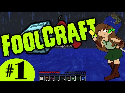 FoolCraft #1: I'm a Complete Fool!! [Modded Minecraft Let's Play]