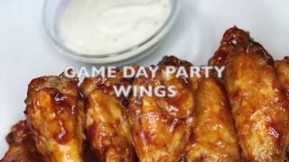Game Day Party Wings! I EstherDees Kitchen