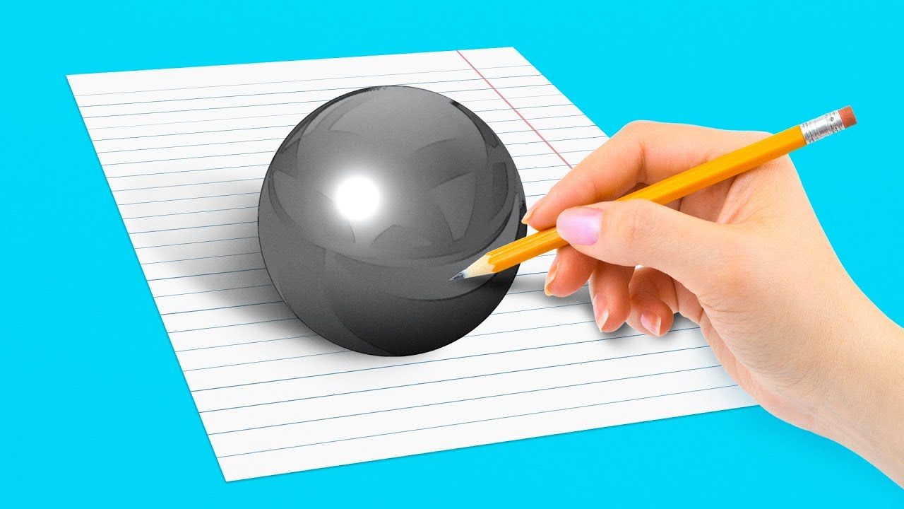 16 Optical Drawing Illusions To Make You Say Wow Youtube