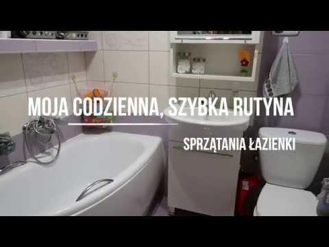 Moja codzienna rutyna sprzątania łazienki/ My daily bathroom cleaning routine