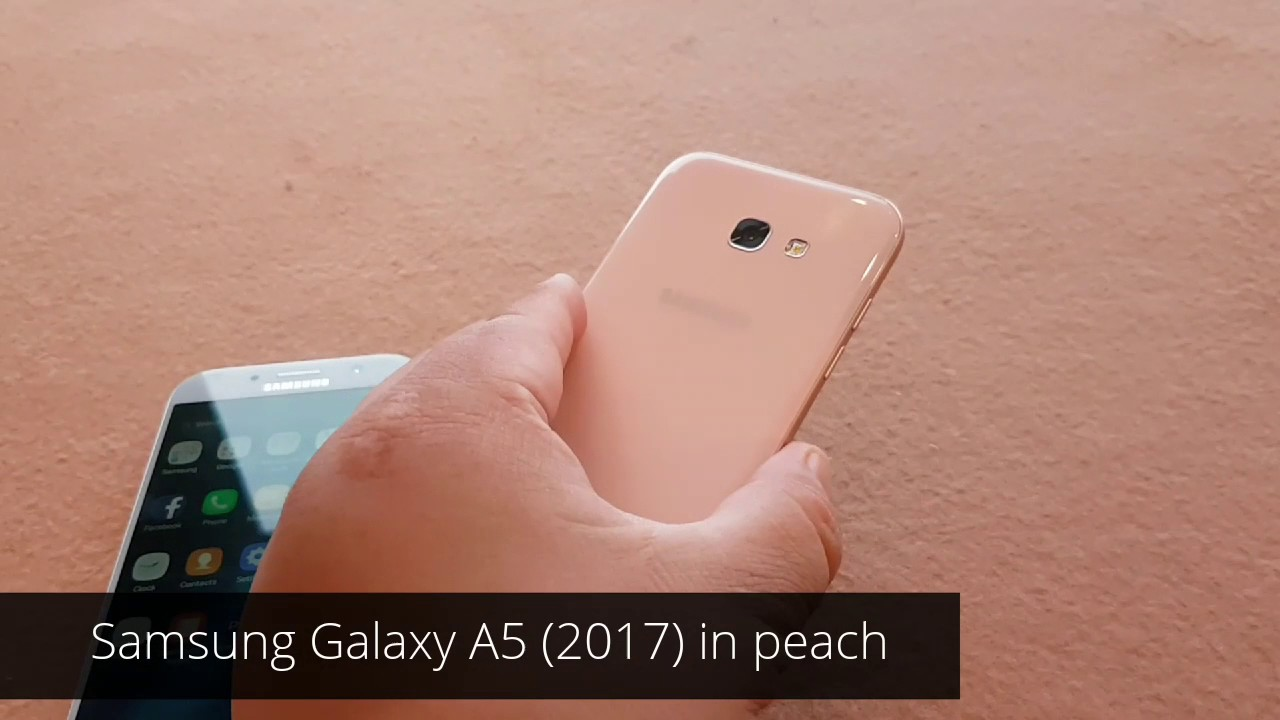 950efd2e7c6 Samsung Galaxy A5 (2017) and A7 (2017) First Look Hands-On - YouTube