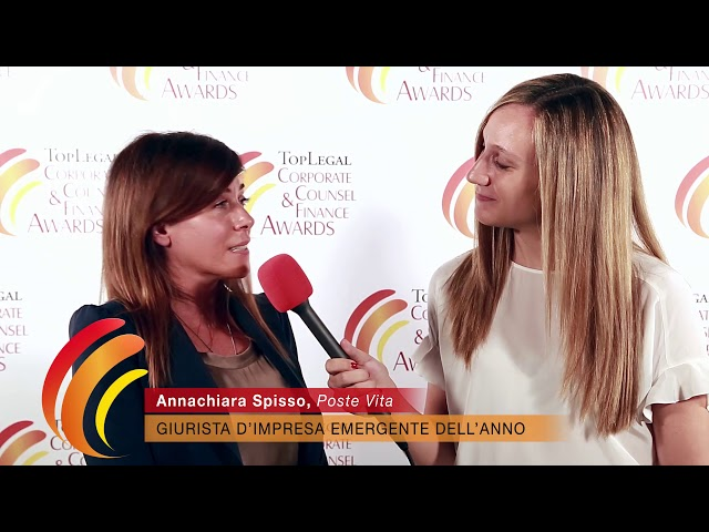 Annachiara Spisso, Poste Vita - TopLegal Corporate Counsel & Finance Awards 2019