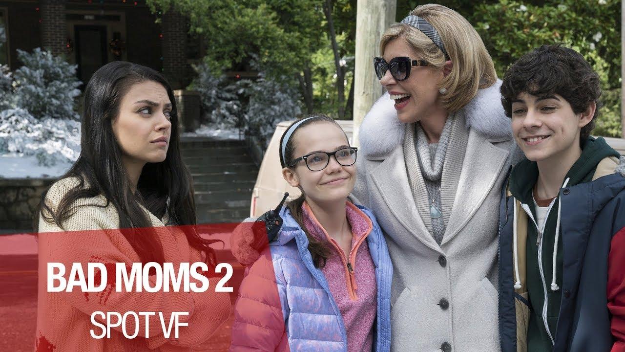 """BAD MOMS 2 - Spot 30"""" """"Noël Fun"""" - Vf"""