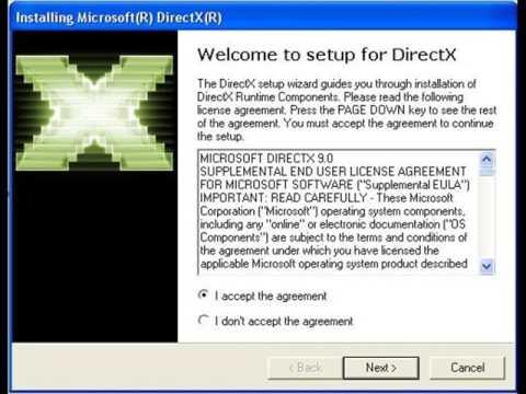 DirectX 9 for Windows 7 (64 bit) download free - YouTube