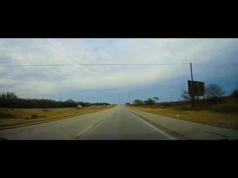 Lubbock, Texas to Ballinger, Texas driving time lapse