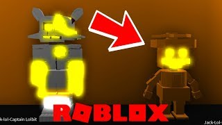 Finding The Secret Halloween Event Badge in Roblox FNAF Captain Lolbits Arcade