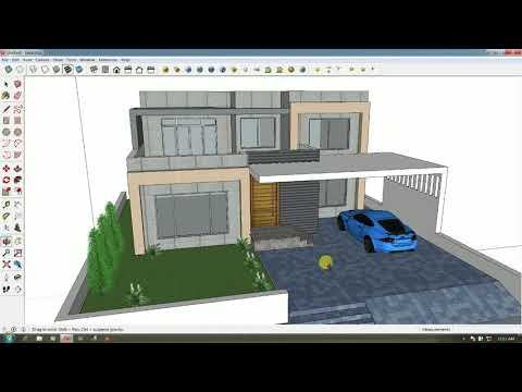 Convert Any Photo into 3D Model in Sketchup
