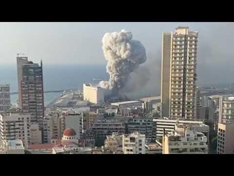 Lebanon main Beirut ke halat / social media per viral video