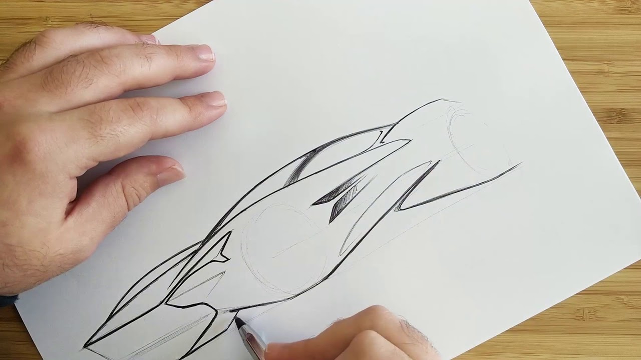 Aston Martin Concept Fast Sketch Youtube