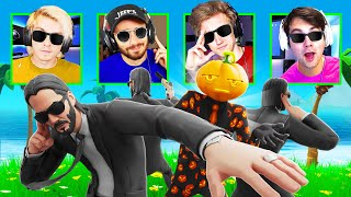 PROTECT THE PRESIDENT CHALLENGE with One Percent Fortnite House (ft. Formula, Nicks, Kiwiz, Randumb)
