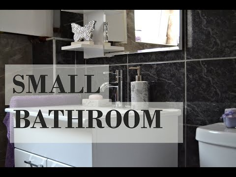 Small bathroom remodel on a budget ideas - Try Lovely DIY