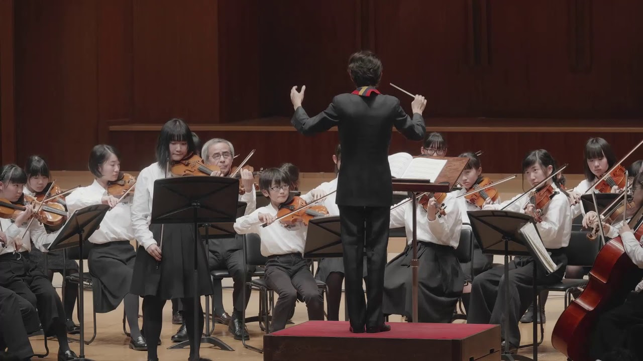子どもオーケストラ「ヴァイオリン協奏曲『四季』から「春」・冬」」《エル・システマ・フェスティバル2018 ガラコンサート》