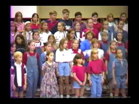 Sabal Point Elementary School Music Performance 10/08/1996