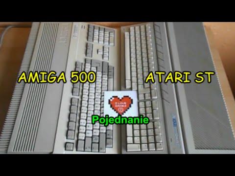 Amiga 500 vs Atari ST - Symboliczne zakończenie wojny systemowej