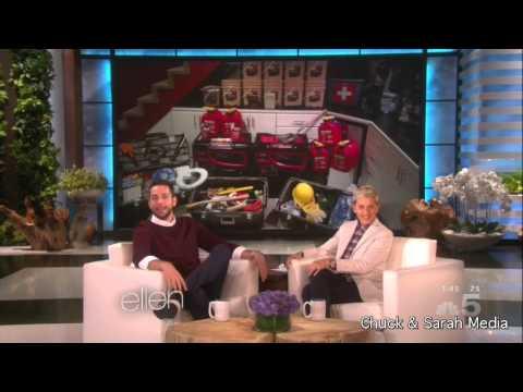 Zachary Levi on Ellen DeGeneres