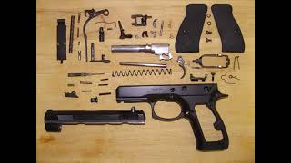 cz 75 d compact p 01 part 1 pln demontž full disassembly