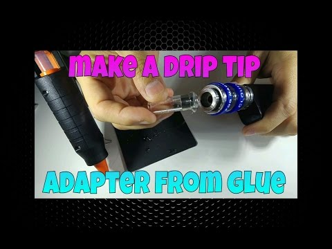 LifeHack - How to make a FREE replacement drip tip adapter