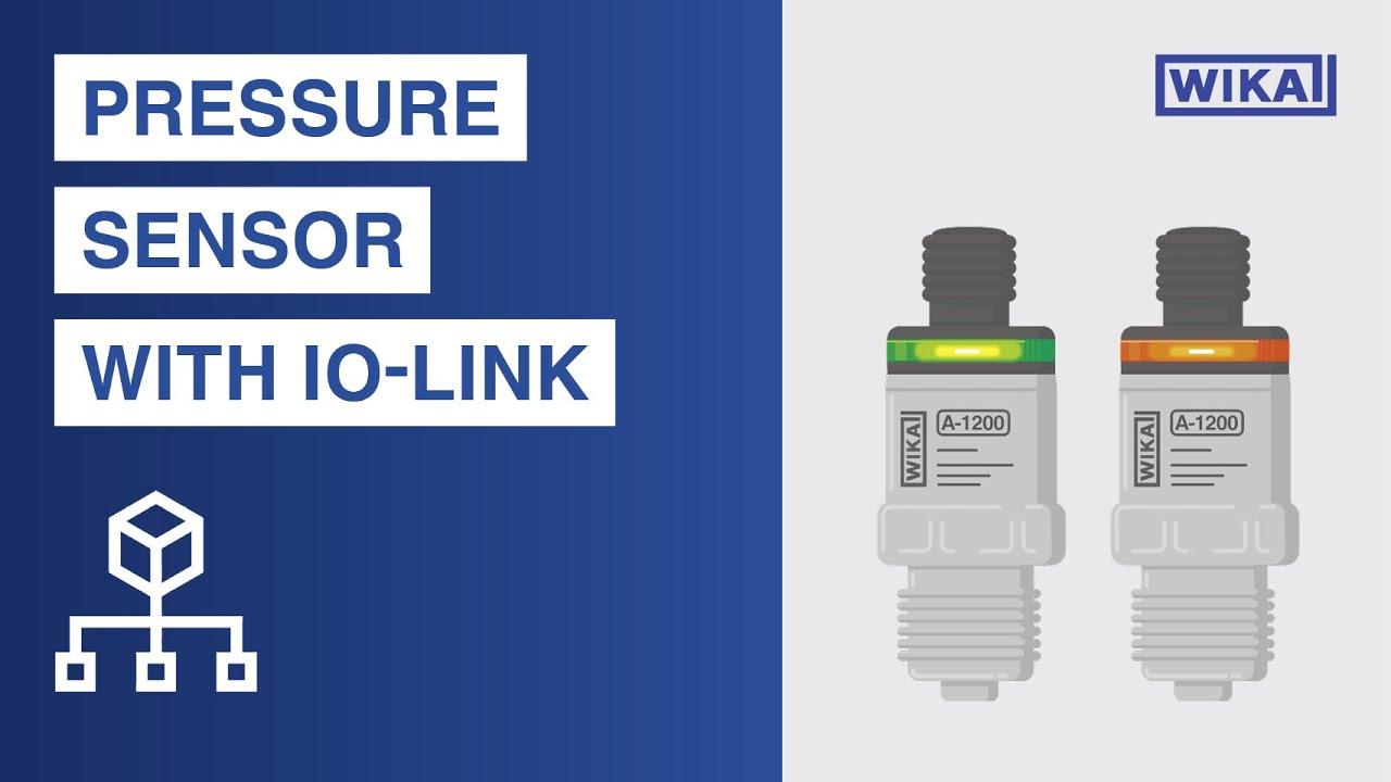 Trasmettitore di pressione con IO-Link, uscita di commutazione PNP o NPN | modello A-1200