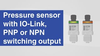 Pressure sensor with IO-Link, PNP or NPN switching output | Model A-1200