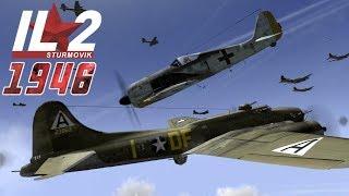 Full IL-2 1946 mission: Viermottöter