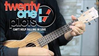Como tocar CAN'T HELP FALLING IN LOVE | Versión Twenty One Pilots UKULELE