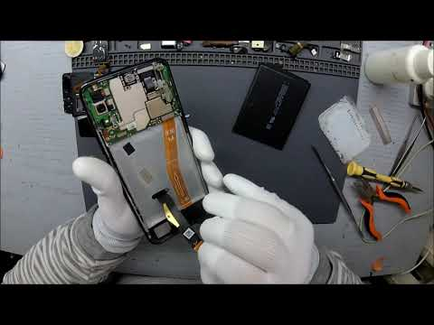 Huawei P Smart Z STK-LX1 - Замена дисплейного модуля (Screen Replacement).