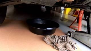 Mazda 626 oil change