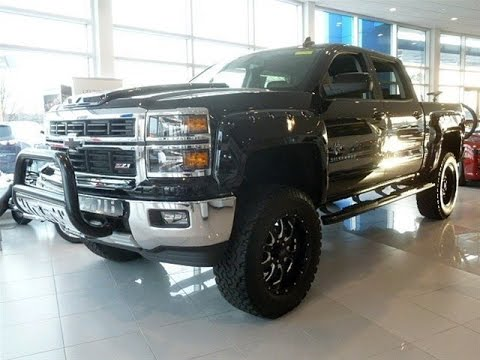 Chevy Reaper 0 60 >> 2015 Chevy Silverado 1500 Supercharged Black Widow Lifted Truck - YouTube