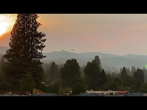 Crews fight growing wildfires in Northern California