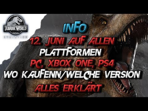 jurassic world evolution deutsch info 12 juni auf pc. Black Bedroom Furniture Sets. Home Design Ideas