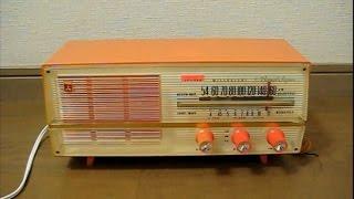 三菱電機の真空管ラジオ 5P-468 です。 使用真空管は12BE6(周波数変換...