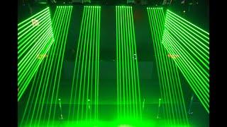 8point laser green 100mw x 8 (…