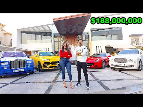 The RICHEST INDIAN BILLIONAIRE of DUBAI *$188 Million Dubai Mega Mansion* !!!