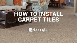 How To Install Carpet Tile Flooring