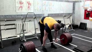 Michael Shivlyakov Deadlift 390 kg !!!