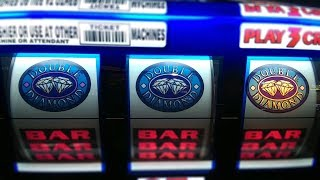 Double Diamond Haywire Slot Machine Play!