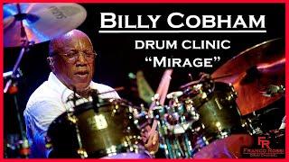 """BILLY COBHAM drum clinic - """"Mirage"""""""